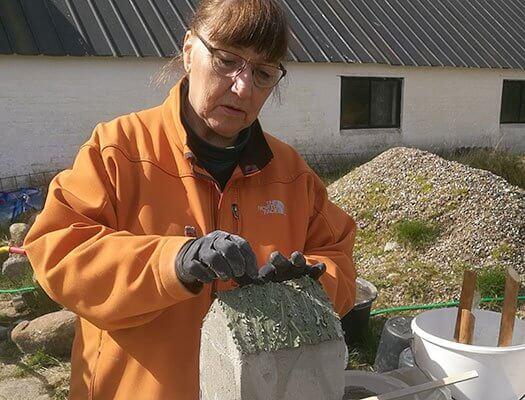Stbekursus med fremstilling af fuglehus i Make Make.