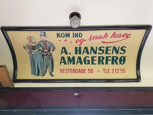 Annonce for A. Hansens Amagerfrø