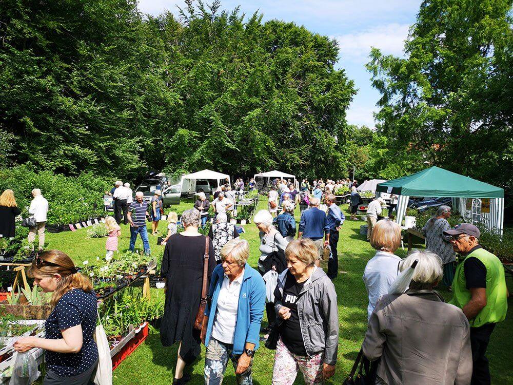 Havemarked i Østre Anlæg 2018