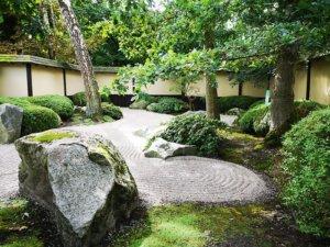 Meditationshaven i De Japanske Haver.