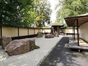 Meditationshaven i De Japanske Haver
