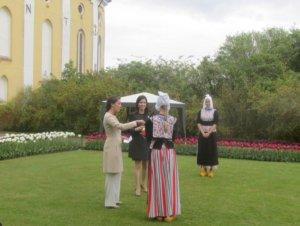 H.K.H. Prinsesse Marie navngiver tulipan