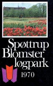 Katalogforside Spøttrup Blomsterløgpark 1970