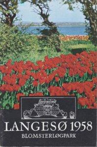 Langesø Blomsterløgpark katalog 1958